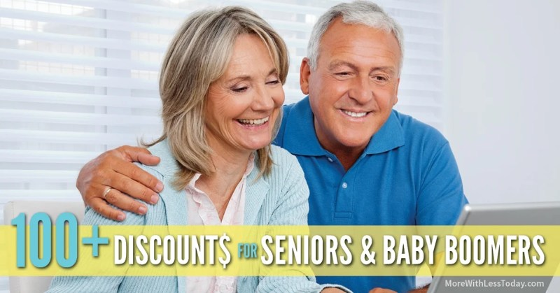 Enjoy this master List of Senior Discounts Over 100 to Share! Updated for 2018. Enjoy senior discount days at stores, restaurants & more!