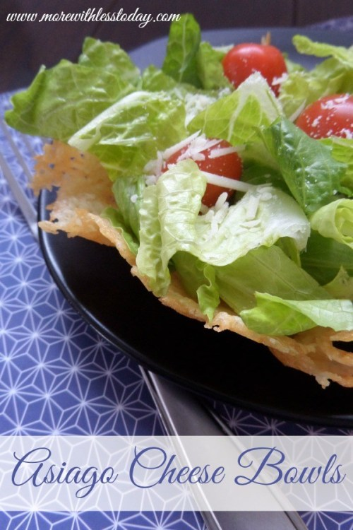Asiago Cheese Bowls – Tasty Edible Bowls for Salads