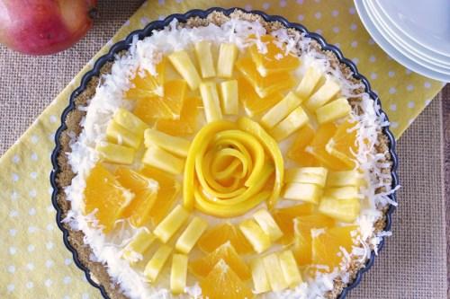 Foolproof Tropical Fruit Tart Recipe – Easy No-Bake Summer Dessert