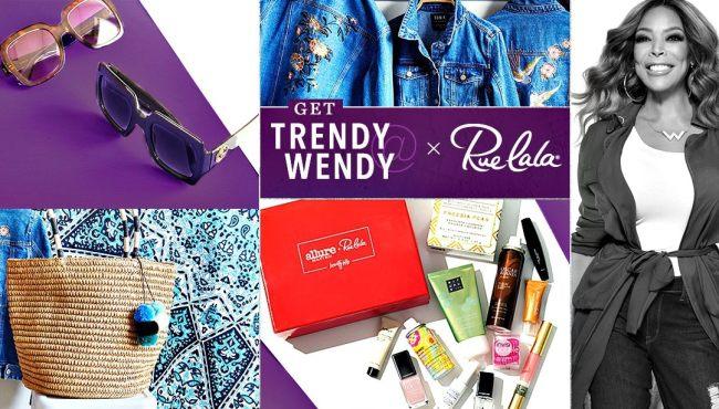 Trendy Wendy deals from Rue la la, Trendy@Wendy deals today