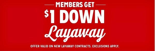 Kmart Layaway 2017