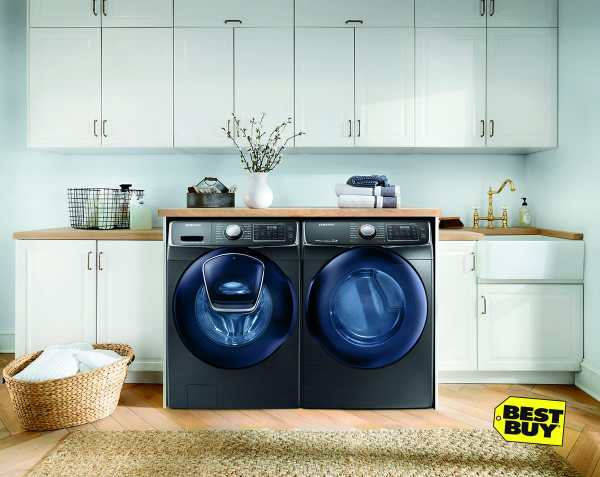 If you are ready for a new washer and dryer, consider ENERGY STAR Washers and Dryers At Best Buy. They are better for clothes and for the environment.