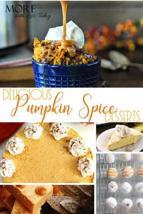 Pumpkin Spice Desserts Sure to Impress – Easy and So Delicious!