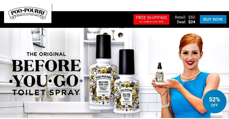 Poo-Pourri spray View Your Deal