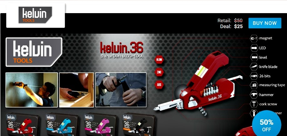 Kelvin Tools seen on The View Deals