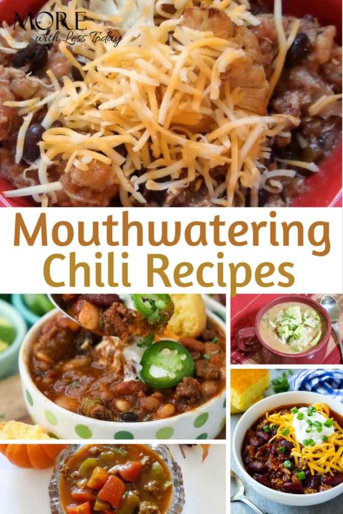 Mouthwatering Chili Recipes for Stress-Free Entertaining - We found 15 mouthwatering chili recipes from our favorite food bloggers