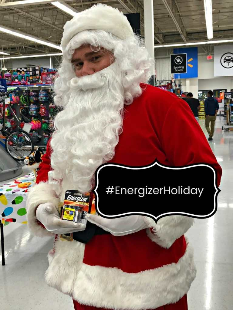 Shopping for toys? Santa says don't forget your Energizer Batteries at Walmart. Take advantage of a special offer for a $5 Walmart eGiftCard.