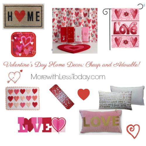 Valentine's Day Home Decor: Cheap and Adorable! From Target, Kohl's, Walmart & Amazon