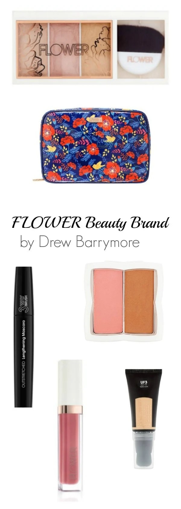 Where to Buy FLOWER Beauty Products from Drew Barrymore. View these popular cosmetics and beauty products that are getting rave reviews. #beauty #makeup AD
