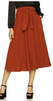 Dear Drew Women's Mulberry Street Tie Front Skirt