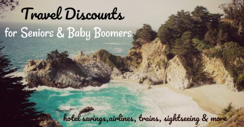 Senior Discounts for Hotels and Travel