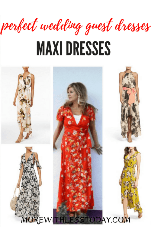 Floral Maxi Dresses – Perfect Wedding Guest Dresses and Summer Party Dresses
