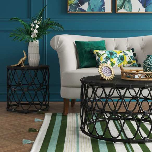 Jewel Round Coffee & Side Table Set - Opalhouse™ at Target
