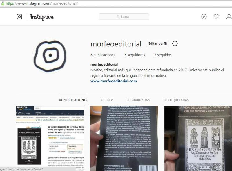 Morfeo Editorial en Instagram