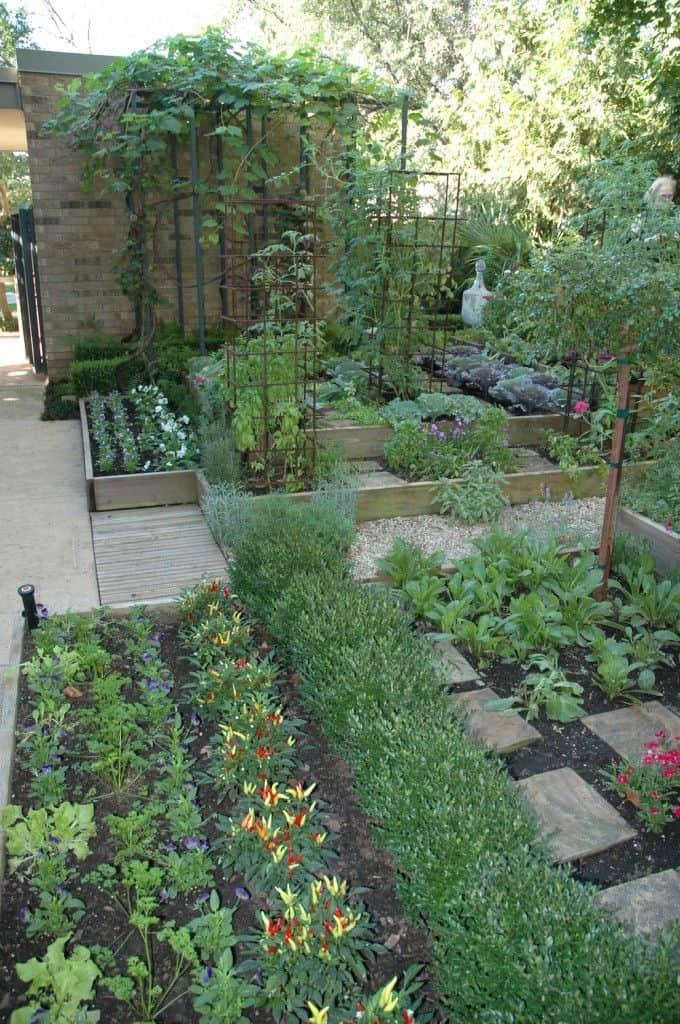 Best 20 Vegetable Garden Design Ideas for Green Living ... on Vegetable Garden Ideas For Backyard id=99019