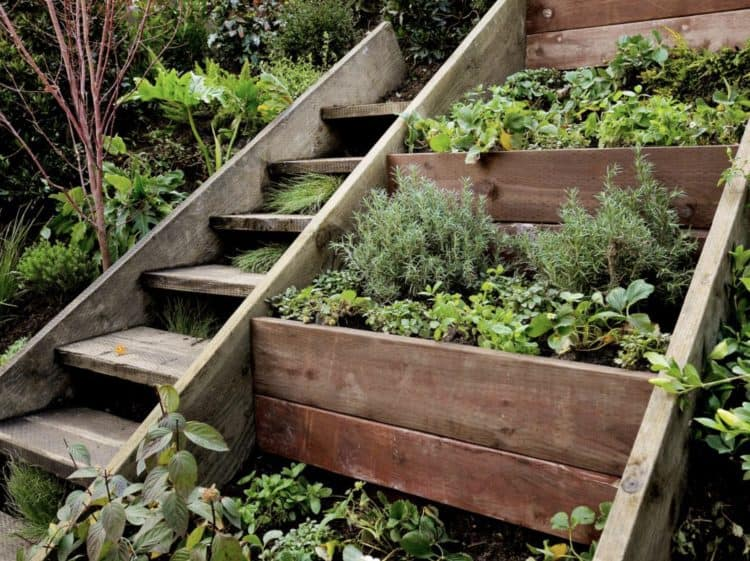 Superbe Diy Garden Steps Stairs Ideas