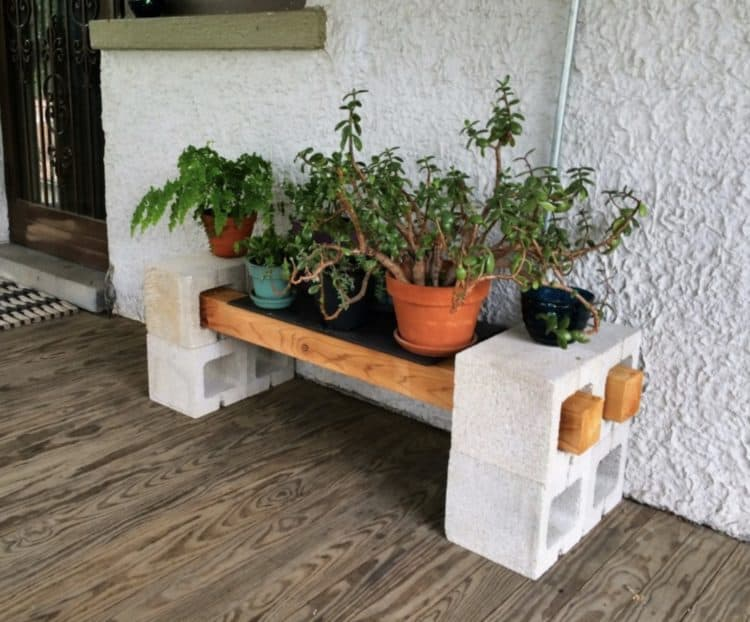 Diy plant stand ideas for dramatic look at home morflora for Herb stand ideas