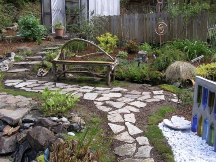 Merveilleux Ideas For Beautiful And Affordable Garden Pathways