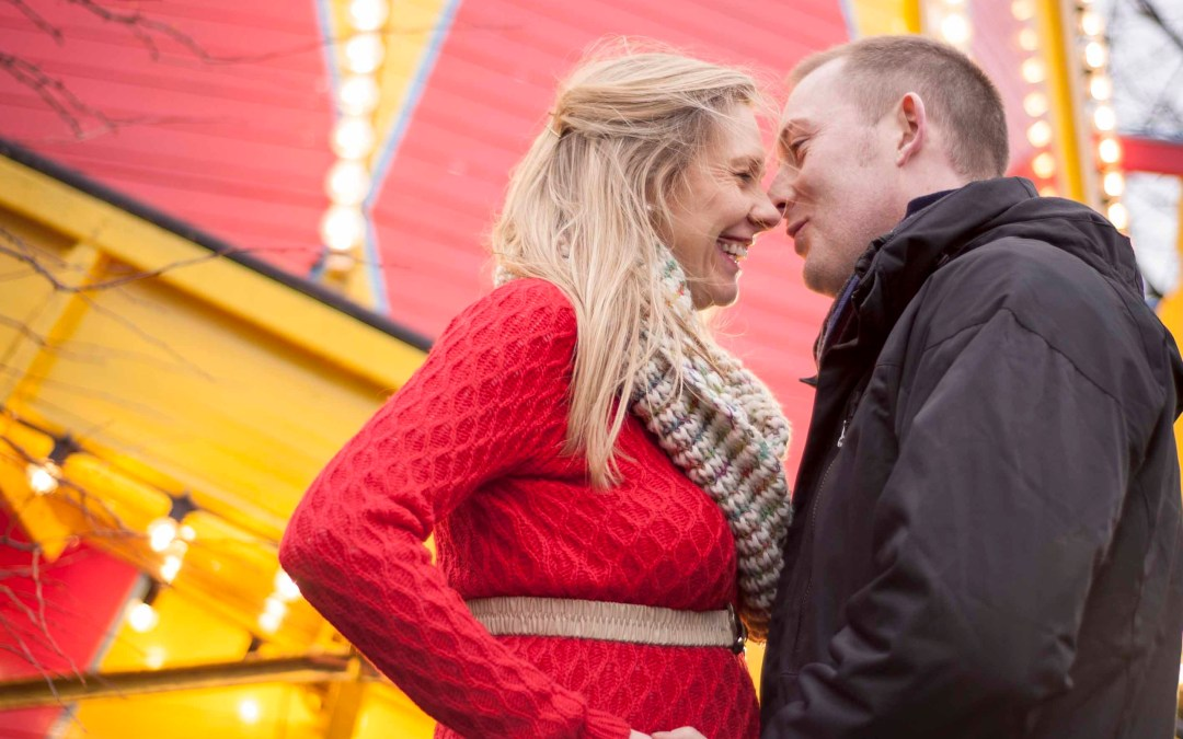 A Christmas market, a baby bump and lovely friends