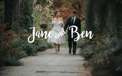 // Jane + Ben Married at Le Petit Chateau in Otterburn