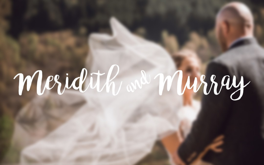 // Meridith + Murray married at Atholl Palace