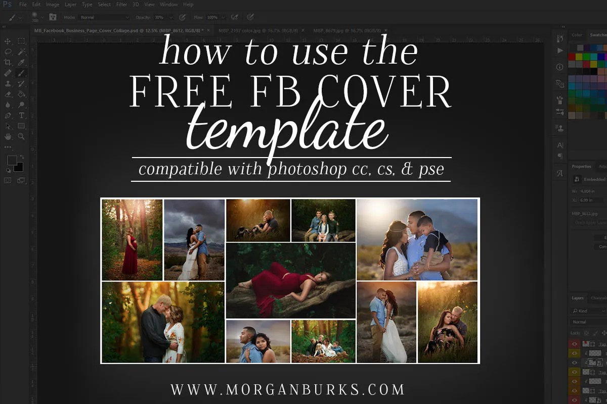 Free Pic Collage Template Tutore