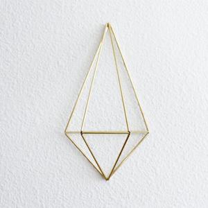 decoration murale triangle