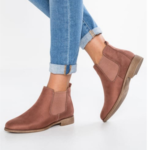 boots rose gold