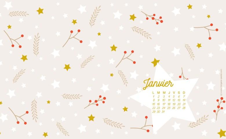 fond-ecran-janvier hiver-free-download