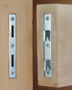 photo of bed rail hardware