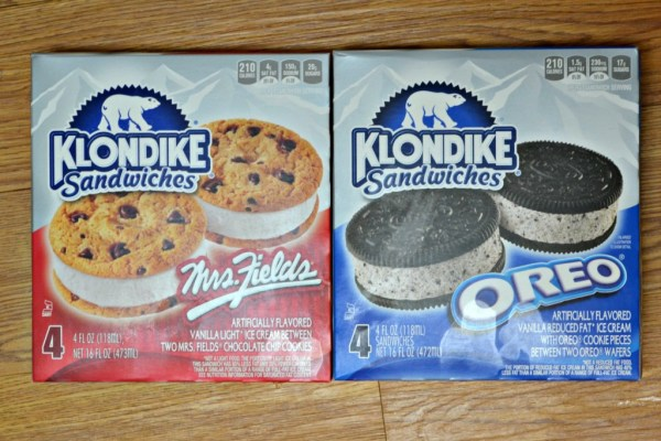 Klondike Ice Cream Sandwiches