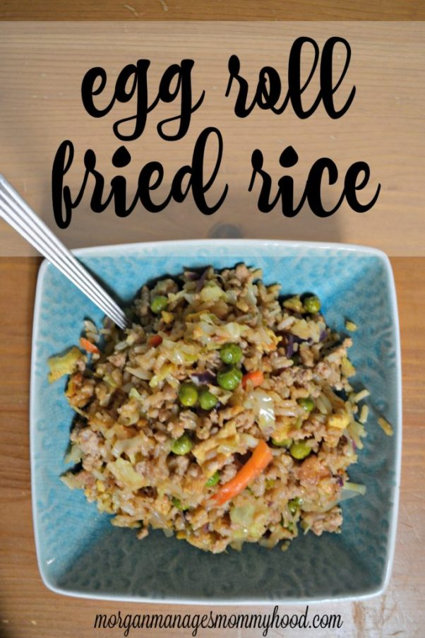Egg Roll Fried Rice
