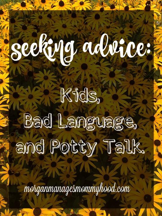 SA Kids Bad Language Potty talk