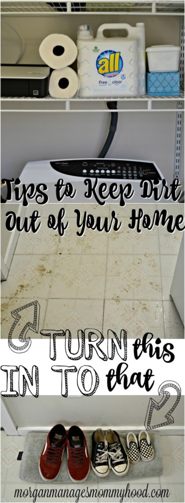 "The saying goes, ""April showers bring May flowers,"" but someone failed to mention that April showers also bring mud. And dirt. And gross. All into my house. Thankfully, I've found a few different ways to keep the dirt from taking over my home! Read on to find out how to keep dirt out of your home!"