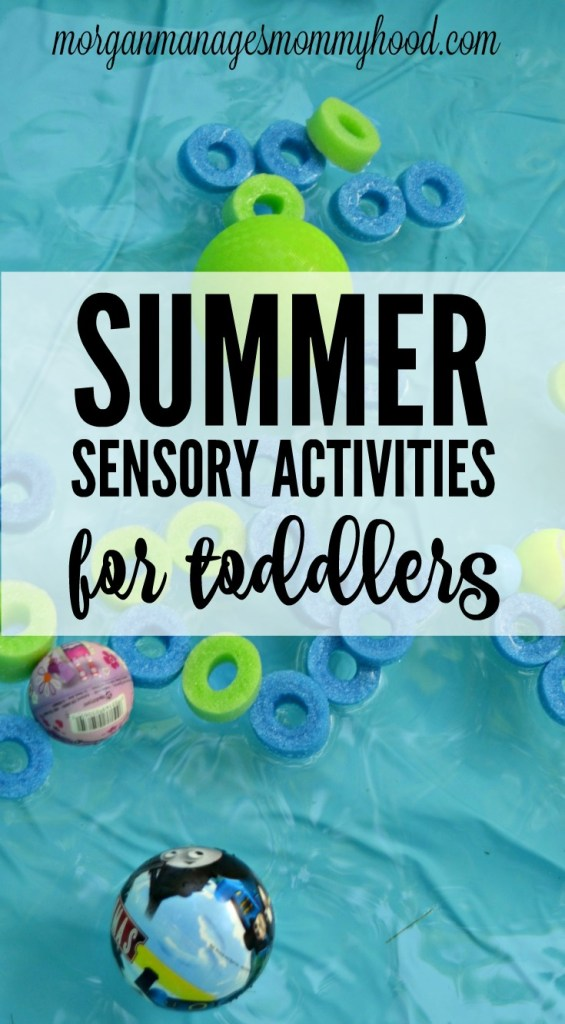 Summer is made for fun outside and getting dirty! Help your toddler learn and explore the world with these 5 Summer Sensory Activities for Toddlers!