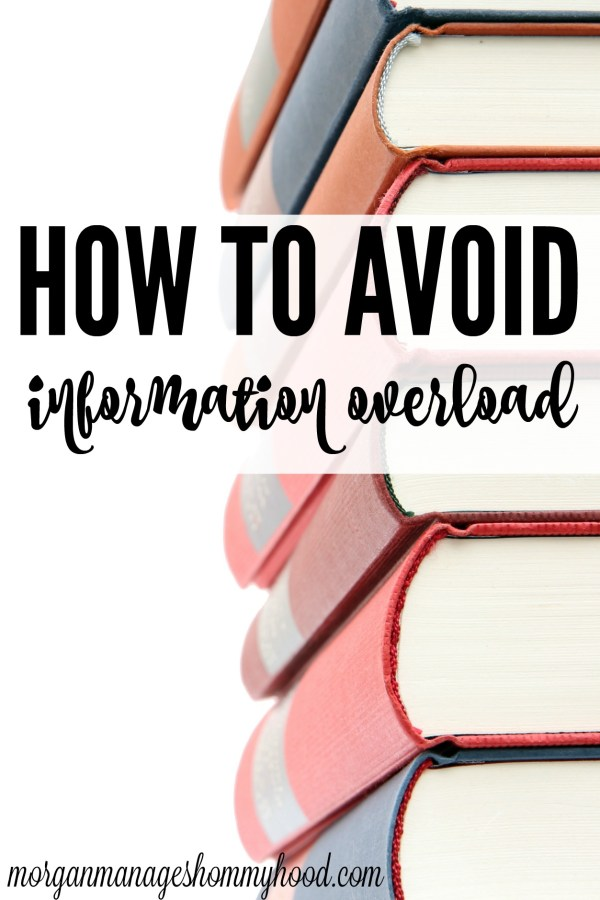 Having tons of information at your fingertips is such a wonderful thing - but what happens when you try to learn everything at once? Here are some tips to avoid information overload!