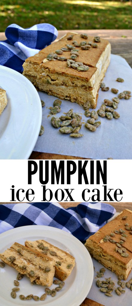 If you're in need of a simple Thanksgiving dessert, this Pumpkin Ice Box Cake is the pick for you! With little hands-ontime and full of flavor, this dessert will be a hit on your dessert table.