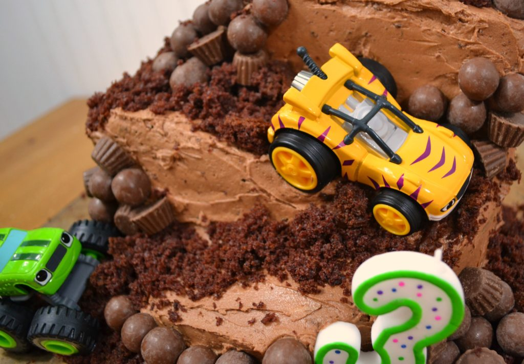 Diy Monster Truck Cake Blaze And The Monster Machines