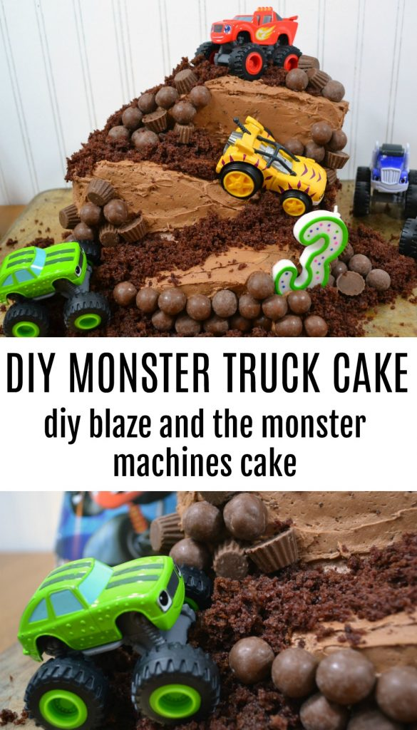 How To Make Blaze And The Monster Machines Cake