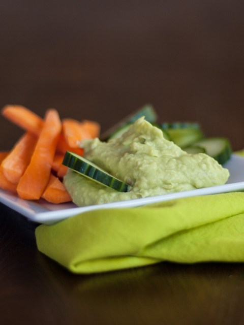Avocado and White Bean Hummus