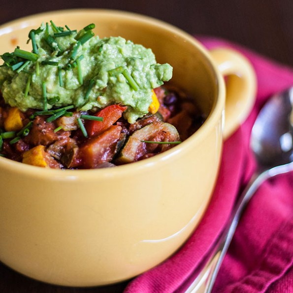 Roasted Veggie Chili