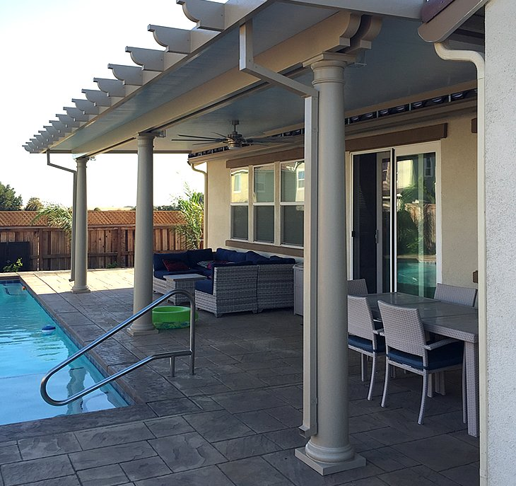 awnings patio covers fairfield solano