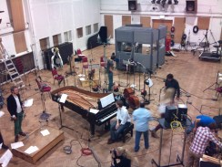 Recording-with-Clasico-Latino-at-Abbey-Road
