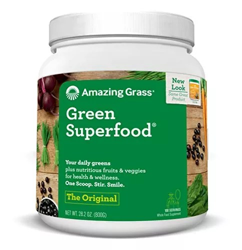 Amazing Grass Green SuperFood Original, 100 Servings, 28.2 Ounces