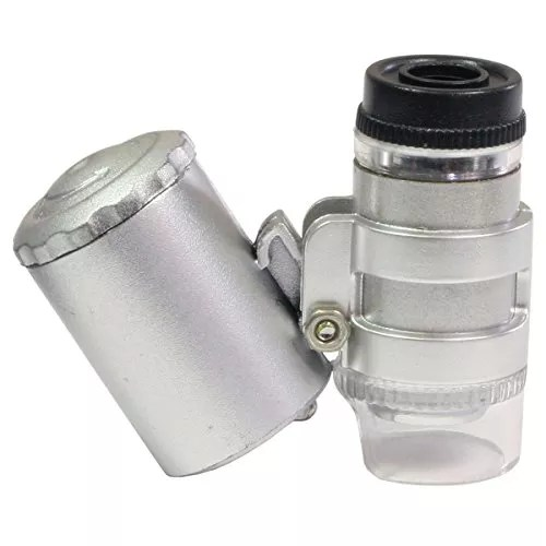 HTS 211A0 3 LED 45x Mini UV Microscope