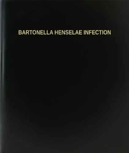 BookFactory® Bartonella Henselae Infection Log Book / Journal / Logbook – 120 Page, 8.5″x11″, Black Hardbound (XLog-120-7CS-A-L-Black(Bartonella Henselae Infection Log Book))