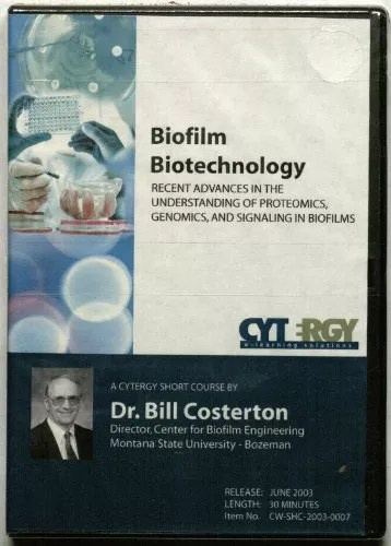 Biofilm Biotechnology: Recent Advances in the Understanding of Proteomics, Genomics, and Signaling in Biofilms CD-ROM
