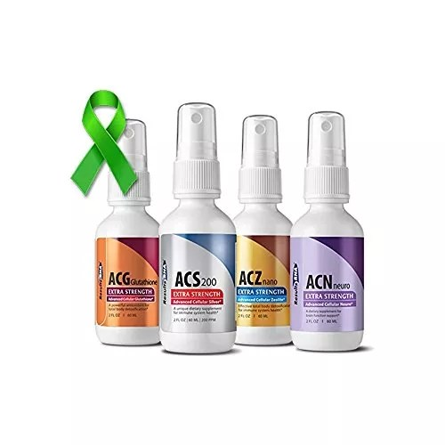 Results RNA, Ultimate Lyme Support System (Kit of 4) Extra Strength, 2 OZ Bottles
