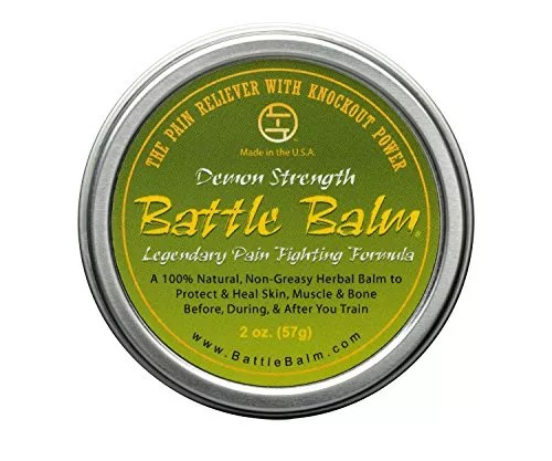 Battle Balm – Demon Strength – Natural Herbal Pain Relief for Arthritis, Sciatica, Back, Neck, Leg, Shoulder – Also Relieves and Workout Soreness (2 oz.)