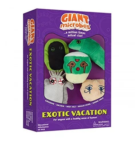 Giantmicrobes Themed Gift Boxes – Exotic Vacation